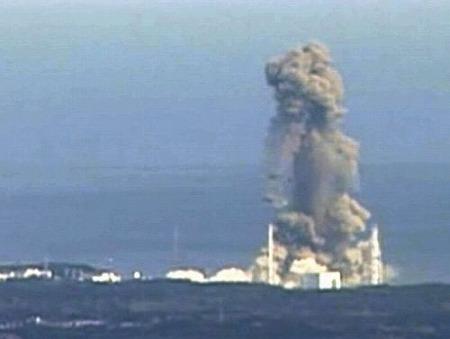 福島第一原子力発電所の爆発