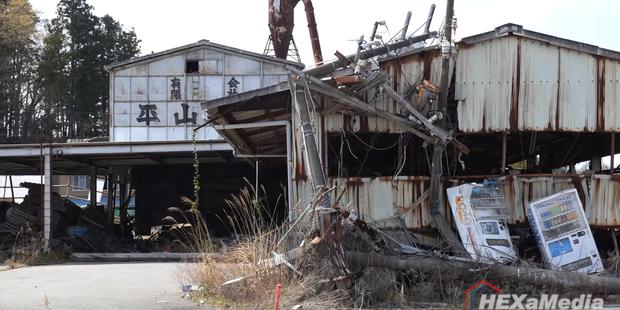 写真:現在の富岡町の様子  出典:Photo / Vimeo, HEXaMedia