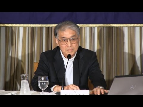 """写真(小出裕章氏) 出典:YouTube「Hiroaki Koide: """"The Trouble with Nuclear Power""""」"""