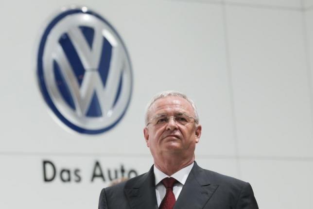 写真(独自動車大手フォルクスワーゲンのウィンターコルン前会長兼CEO) 出典:ロイター/Wolfgang Rattay