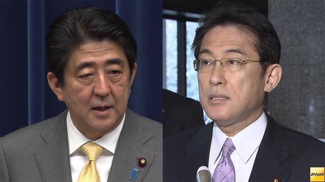 写真(安倍総理は、いわゆる「従軍慰安婦問題」の早期妥結を目指すため、岸田外相に対して、年内に韓国を訪問するよう指示した。) 出典:FNNニュース