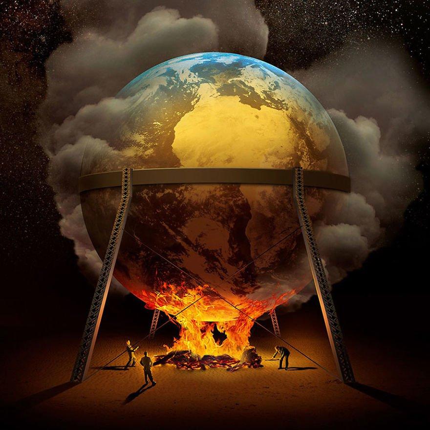 地球環境を破壊しているのは誰だ?