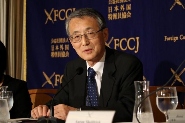 写真(原子力規制委員会の田中俊一委員長)